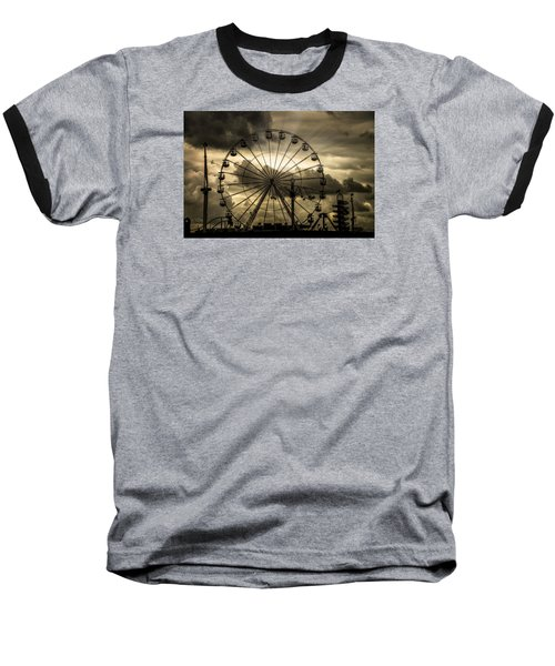 Baseball T-Shirt featuring the photograph A Day At The Fair by Chris Lord