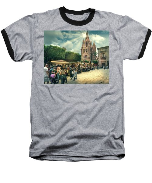 A Day With The Family Baseball T-Shirt