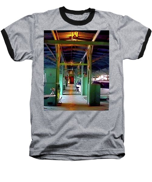 A Delta Boat Shed Baseball T-Shirt