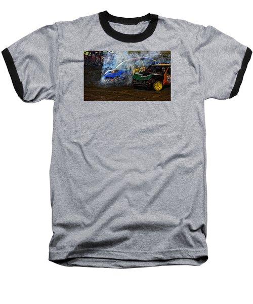 A Demo Fire Baseball T-Shirt