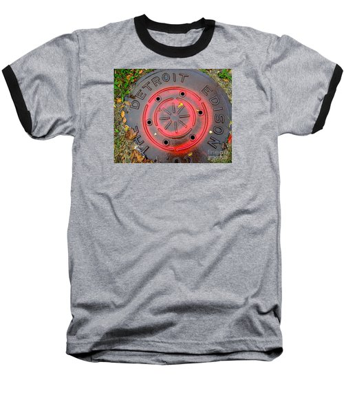 Red Circles  Baseball T-Shirt