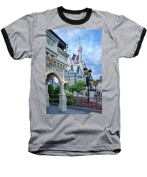 Baseball T-Shirt featuring the photograph A Different Angle by Greg Fortier