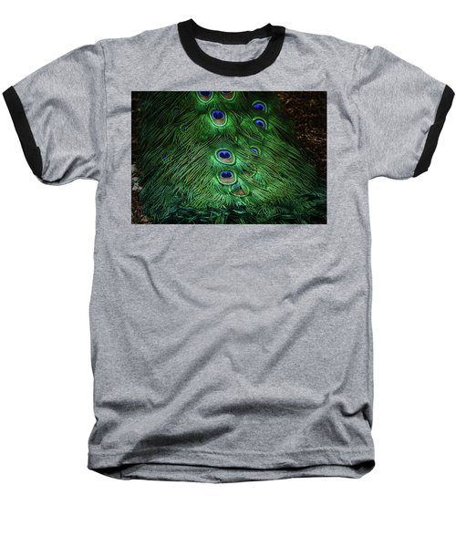 A Different Point Of View Baseball T-Shirt by Elaine Malott