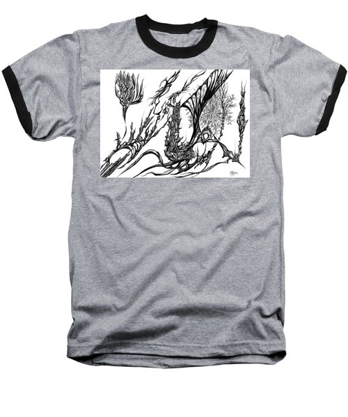 A Different Slant Baseball T-Shirt by Charles Cater