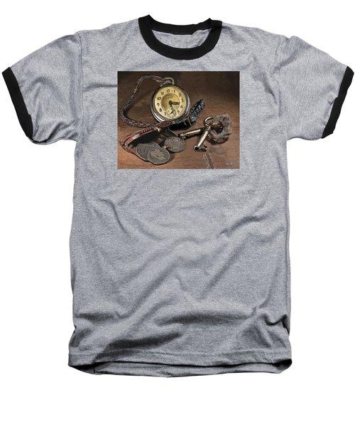 A Different Time Baseball T-Shirt by Mark Allen