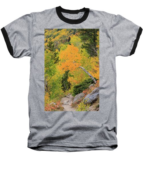 Baseball T-Shirt featuring the photograph Yellow Drop by David Chandler