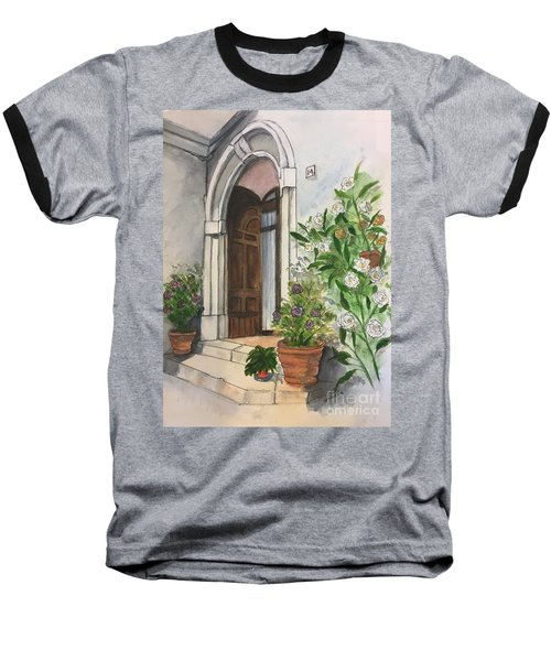 A Door In Castellucco, Italy Baseball T-Shirt