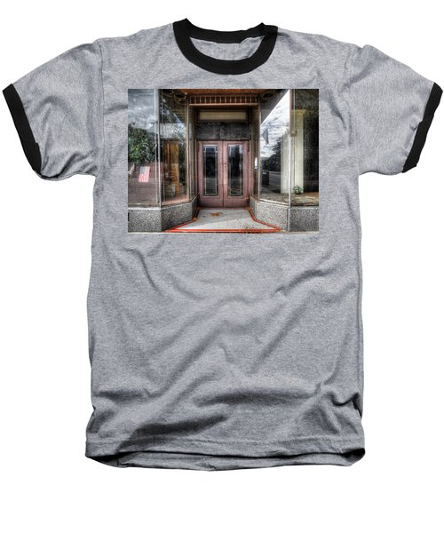 A Doorway In Port Jervis Baseball T-Shirt