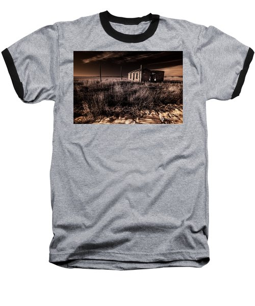 A Dream Deferred Baseball T-Shirt by William Fields