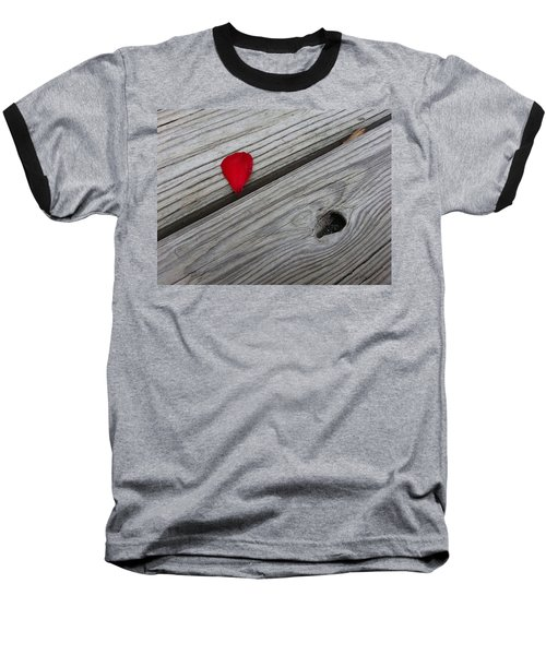 Baseball T-Shirt featuring the photograph A Drop Of Color by Robert Knight