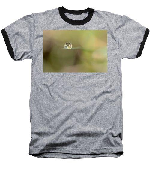 A Drop Of Subtlety Baseball T-Shirt by Janet Dagenais Rockburn