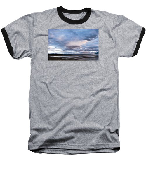 Baseball T-Shirt featuring the photograph A Dry Jackson Lake by Monte Stevens