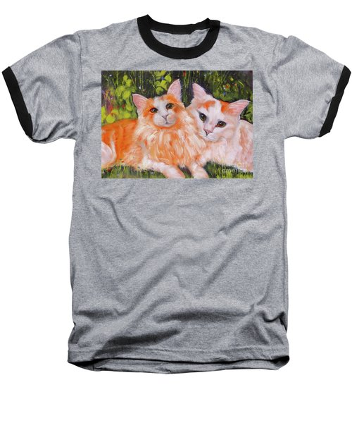 A Duet Of Kittens Baseball T-Shirt