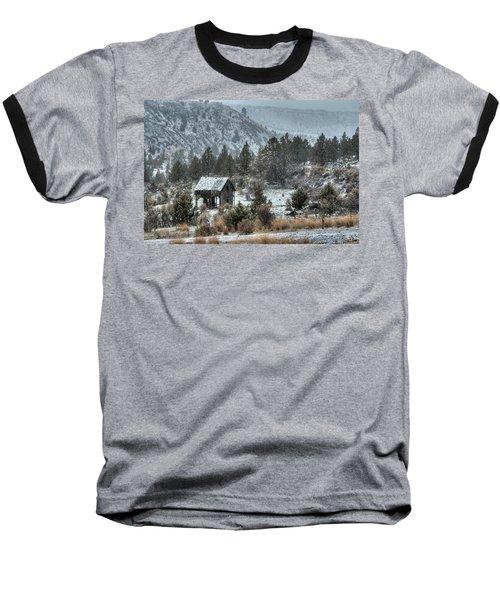 A Dusting Of Snow Baseball T-Shirt
