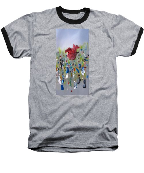 A Face In The Crowd Baseball T-Shirt