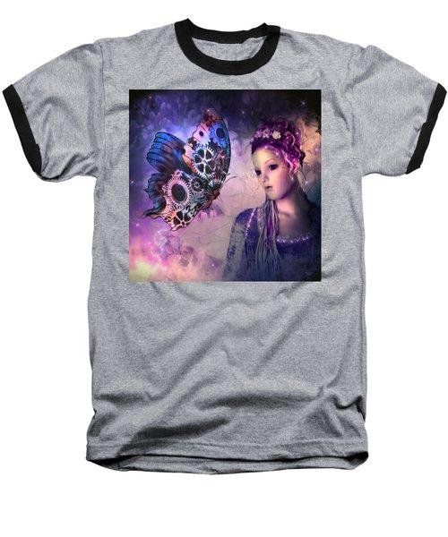 A Fairy Butterfly Kiss Baseball T-Shirt