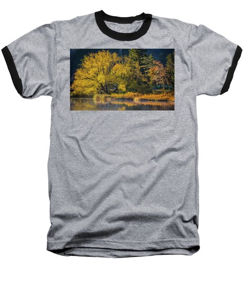 A Fall Day  Baseball T-Shirt