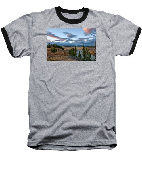 A Fall Evening In Hayden Valley Baseball T-Shirt