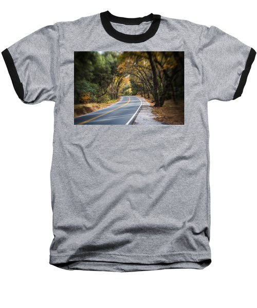 A Fall Roadway Baseball T-Shirt