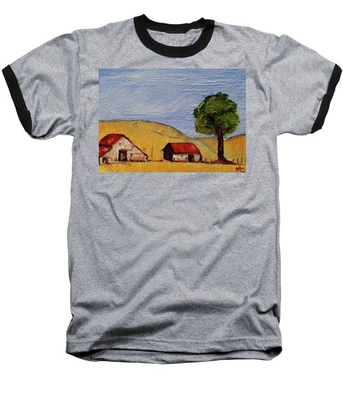 A Farm In California Winecountry Baseball T-Shirt