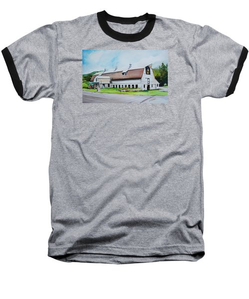 A Farmstand  In The Berkshires Baseball T-Shirt by P Anthony Visco