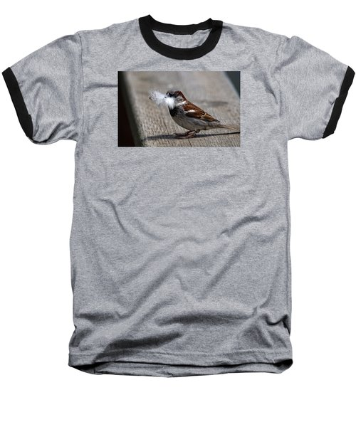 A Feather For The Nest Baseball T-Shirt