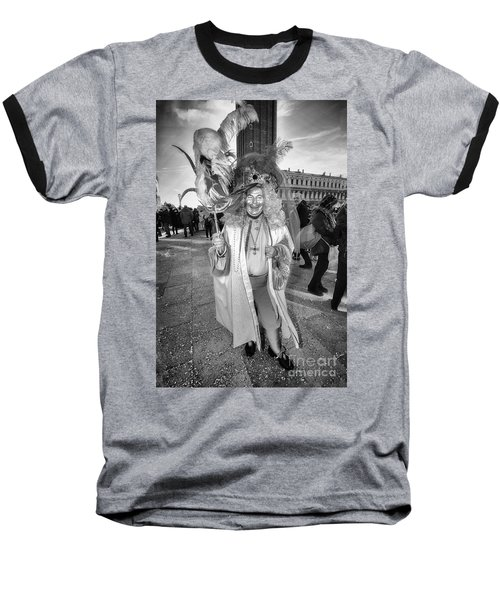 A Feathered Casanova  Baseball T-Shirt by Jack Torcello