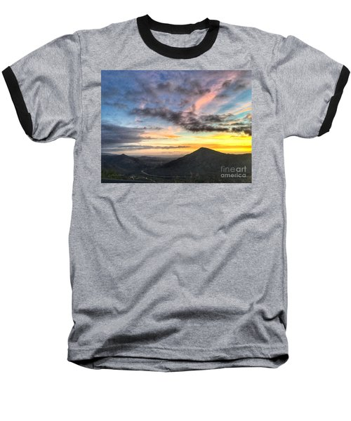 A Feeling Of The Presence Of God - Digital Painting Baseball T-Shirt