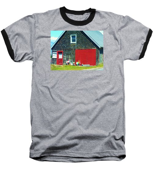 A Fisherman's Barn Baseball T-Shirt