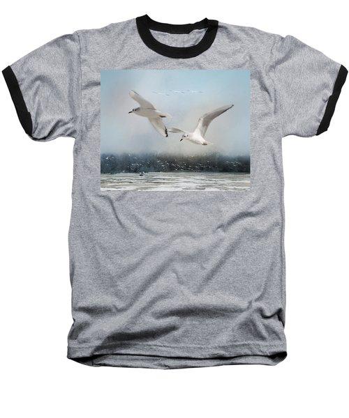 A Fishin' On The River Baseball T-Shirt