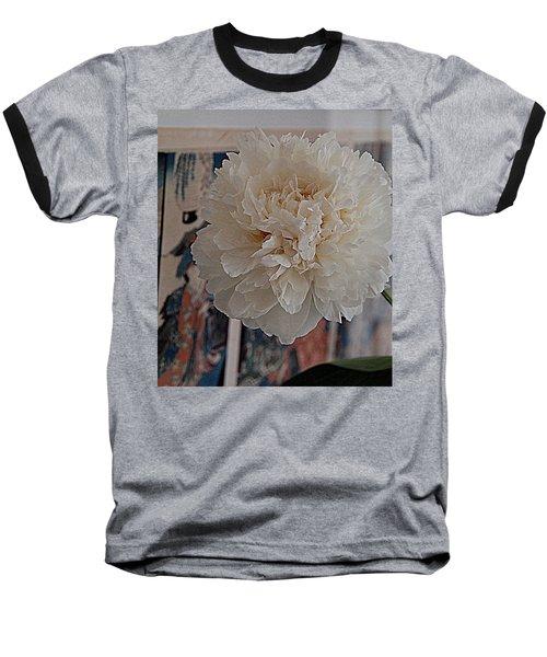 Baseball T-Shirt featuring the photograph A Fluff Of Petals by Nancy Kane Chapman