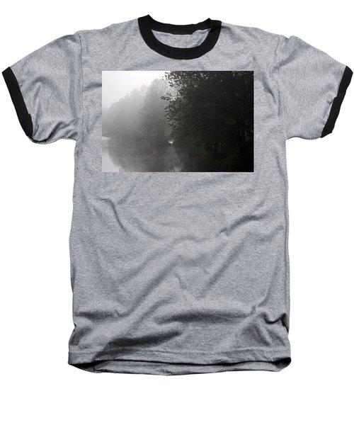 A Foggy Morning In Pennsylvania Baseball T-Shirt