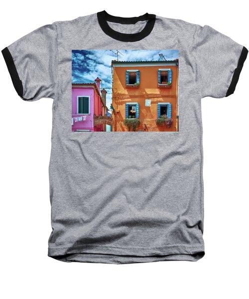 A Fragment Of Color Baseball T-Shirt