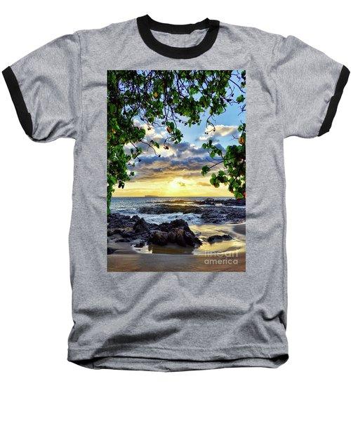 Heaven On Maui Baseball T-Shirt