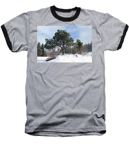A Fresh Blanket Of Snow Baseball T-Shirt