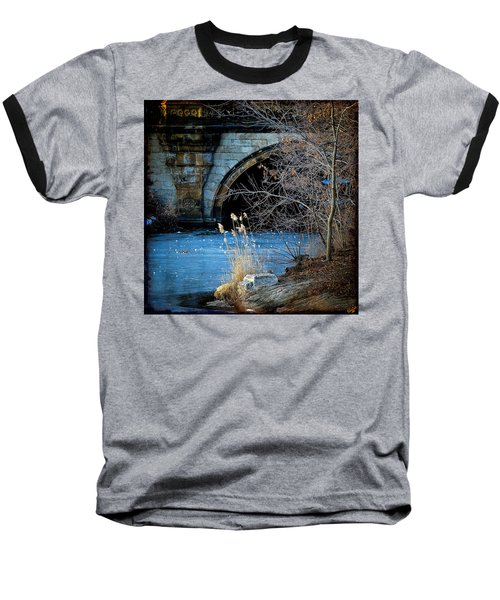 A Frozen Corner In Central Park Baseball T-Shirt