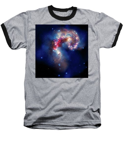 Baseball T-Shirt featuring the photograph A Galactic Spectacle by Marco Oliveira