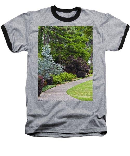 A Garden Walk Baseball T-Shirt