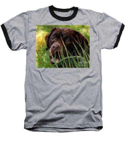 A Gardener's Friend Baseball T-Shirt by Molly Poole