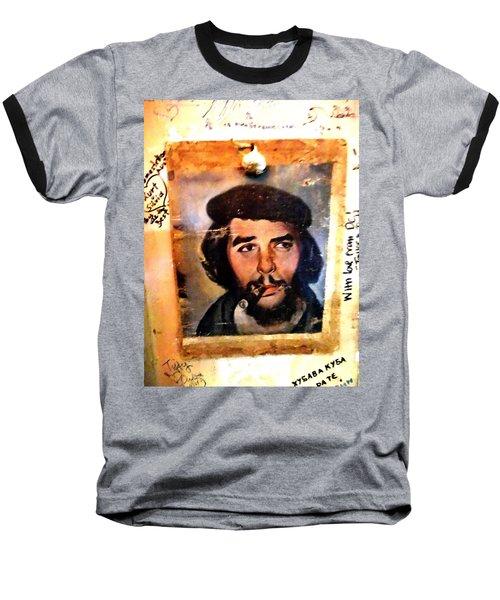 A Garlicky Che Guevara In Havana  Baseball T-Shirt