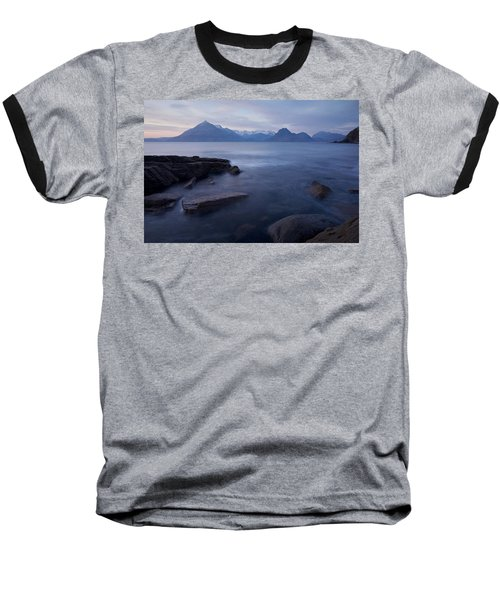 A Gentle Sunset At Elgol  Baseball T-Shirt