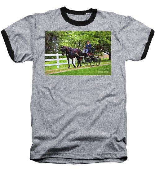 A Gentleman's Sunday Ride Baseball T-Shirt