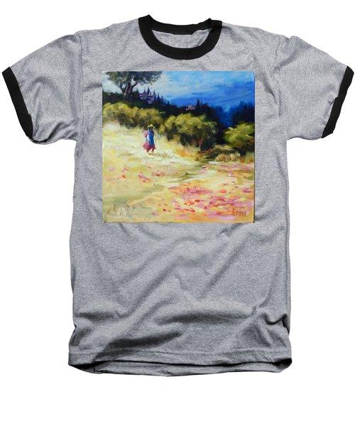 A Girl From Gran Porcon, Peru Impression Baseball T-Shirt