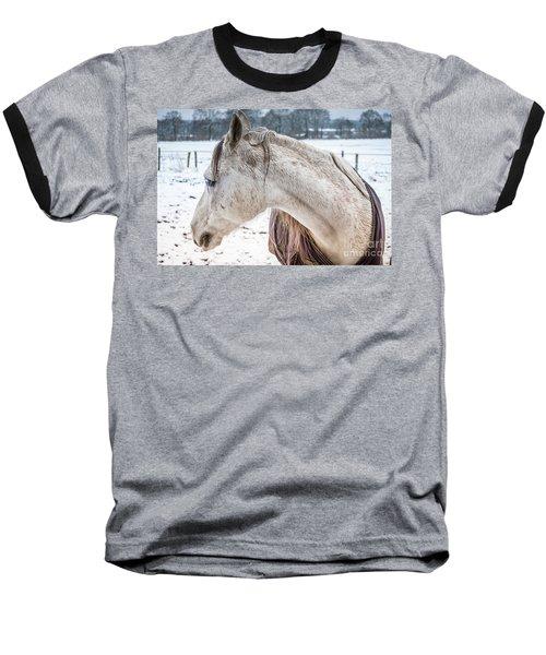 A Girlfriend Of The Horse Amigo Baseball T-Shirt