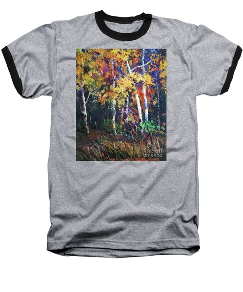 A Glance Of The Woods Baseball T-Shirt