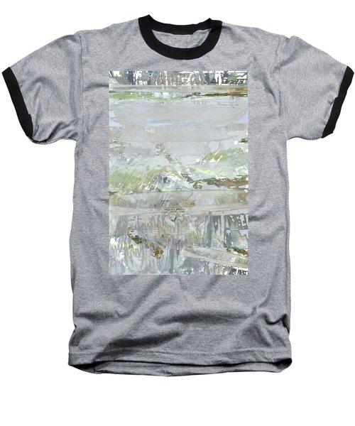 A Glass Half Full Baseball T-Shirt