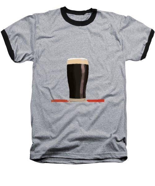 A Glass Of Stout Baseball T-Shirt