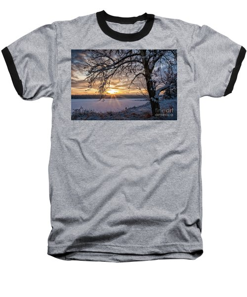 A Glenmore Sunset Baseball T-Shirt