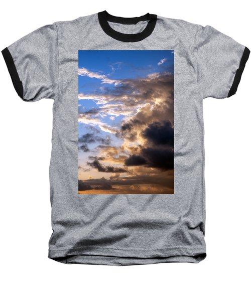 Baseball T-Shirt featuring the photograph a Good Morning by Allen Carroll
