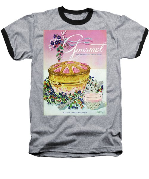A Gourmet Cover Of A Souffle Baseball T-Shirt